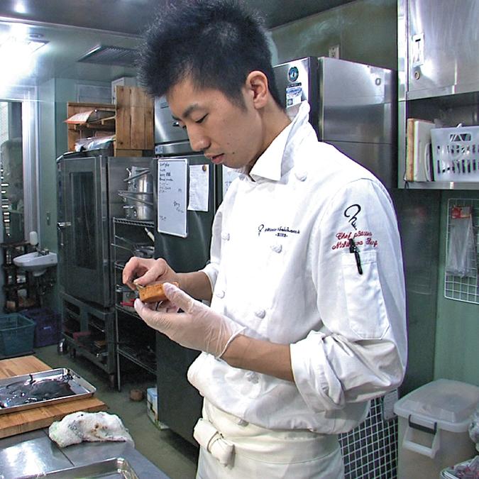 オーナーシェフ:西川健司