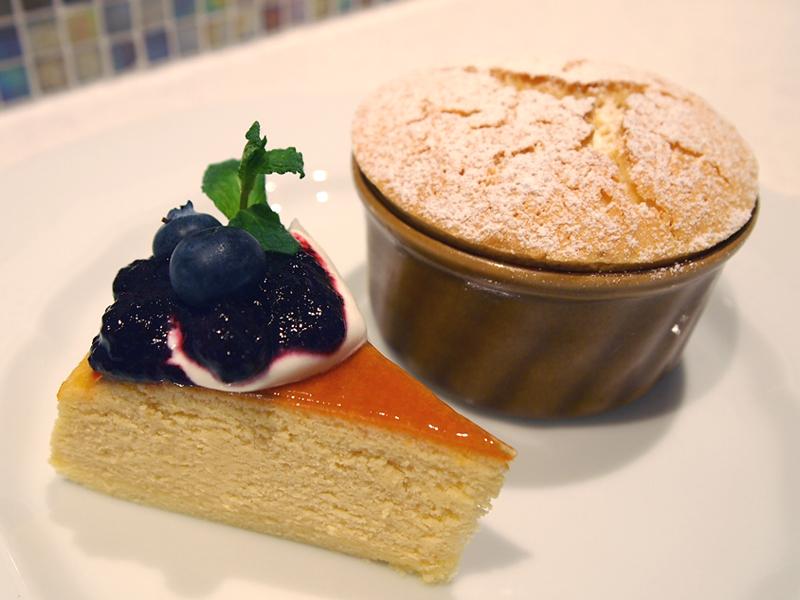 スフレチーズケーキ02