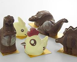 恐竜チョコレート